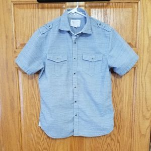 NWOT Paper denim &cloth small greyblue